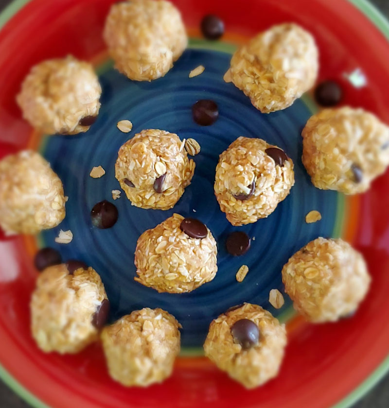 Healthy Cookie Balls